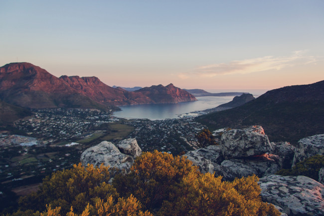 View of Hout Bay, Cape Town (South Africa)
