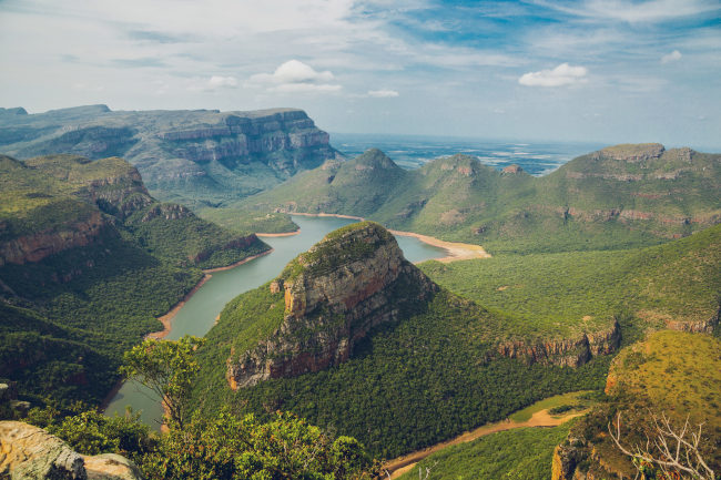 Landscape photography of mountains in South Africa