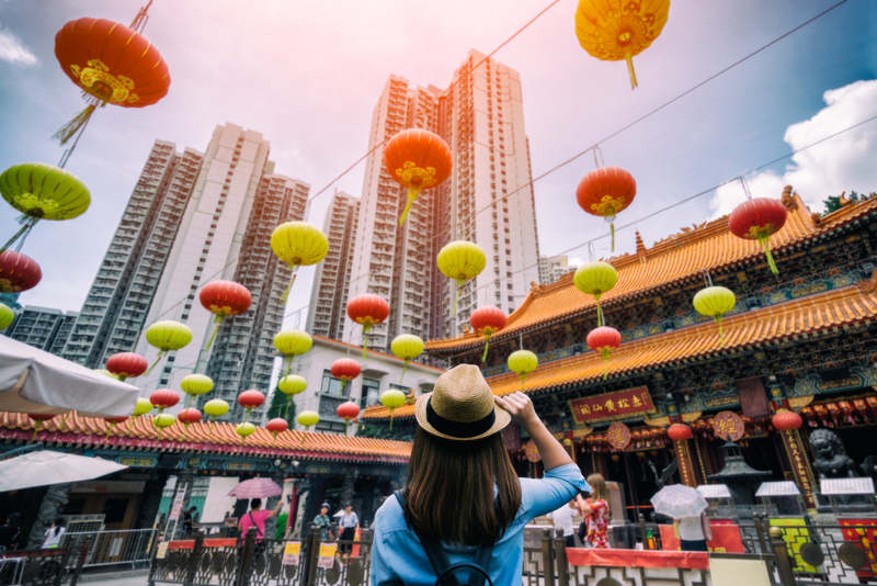 Chinese travelers increase